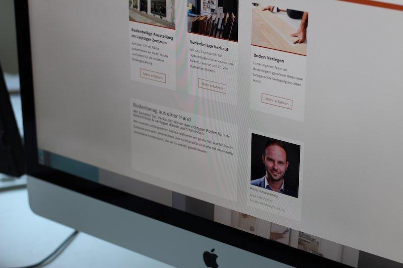 Beispiel Webdesign und Online-Shop Erstellung für lokales Fachgechäft und Handwerker