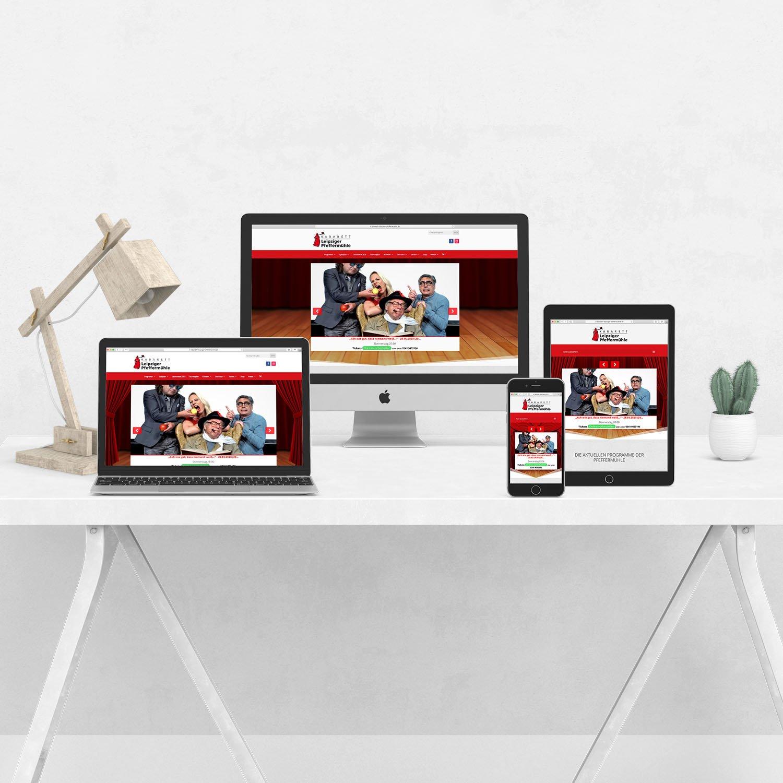 Bild verschiedener Homepage Beispiele